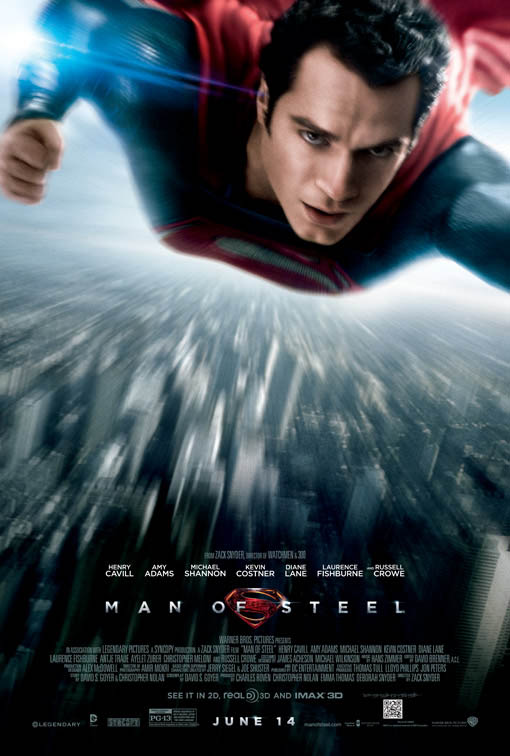 Man of Steel Large Poster