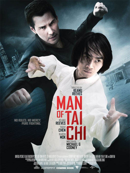 Man of Tai Chi Large Poster