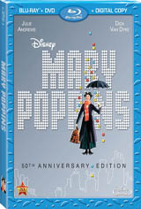 Mary Poppins 50th Anniversary Movie Poster