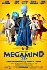 Megamind Movie Poster