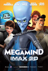 Megamind: An IMAX 3D Experience Movie Poster