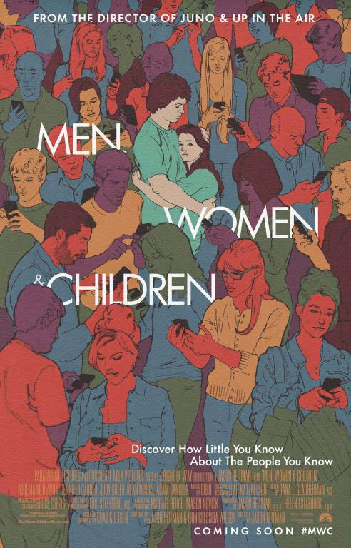 Men, Women & Children Large Poster