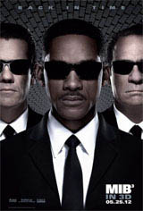 Men in Black 3 3D Movie Poster