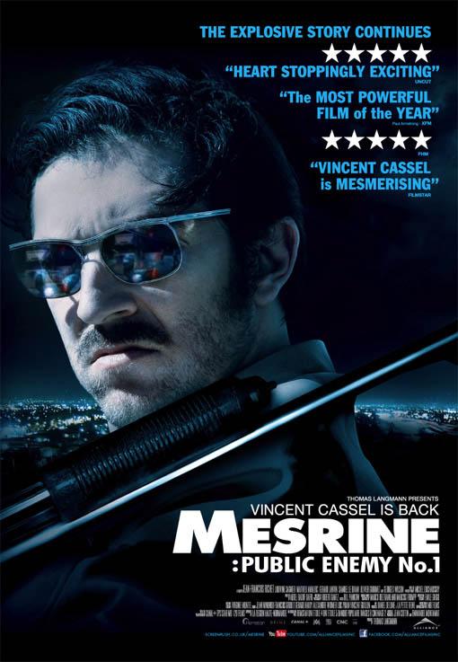 Mesrine: Public Enemy No. 1 Large Poster