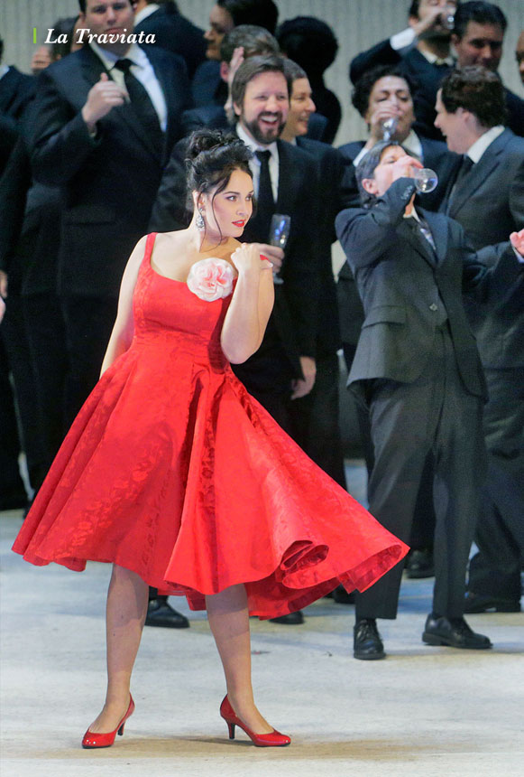 The Metropolitan Opera: La Traviata Large Poster