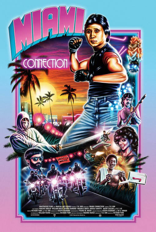 Miami Connection (w/ Postmodem) Large Poster