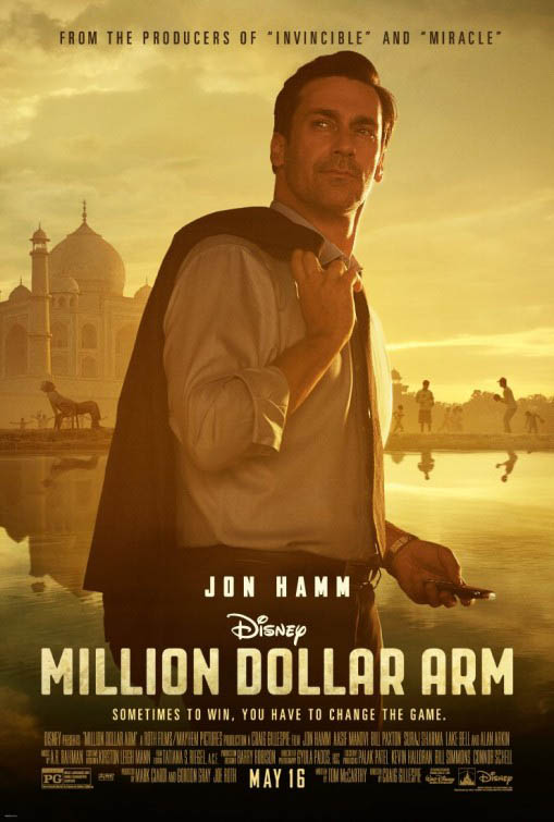 Million Dollar Arm Large Poster