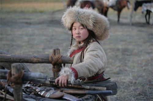 Genghis Khan Mongol. horseman, Genghis Khan.
