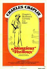 Monsieur Verdoux Movie Poster