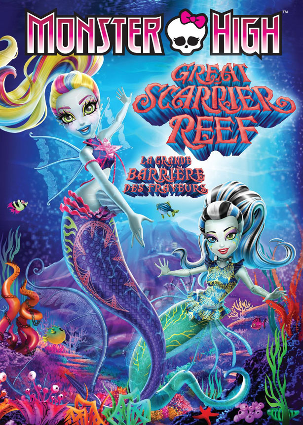 Monster High: Great Scarrier Reef Large Poster