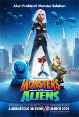 Monsters vs. Aliens Movie Poster