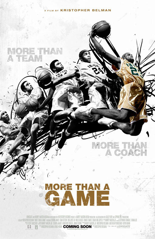 More Than a Game Large Poster