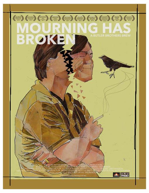 Mourning Has Broken Large Poster