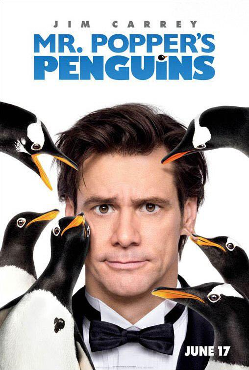 Mr. Popper's Penguins Large Poster