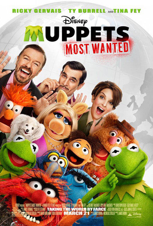 Muppets Most Wanted Large Poster