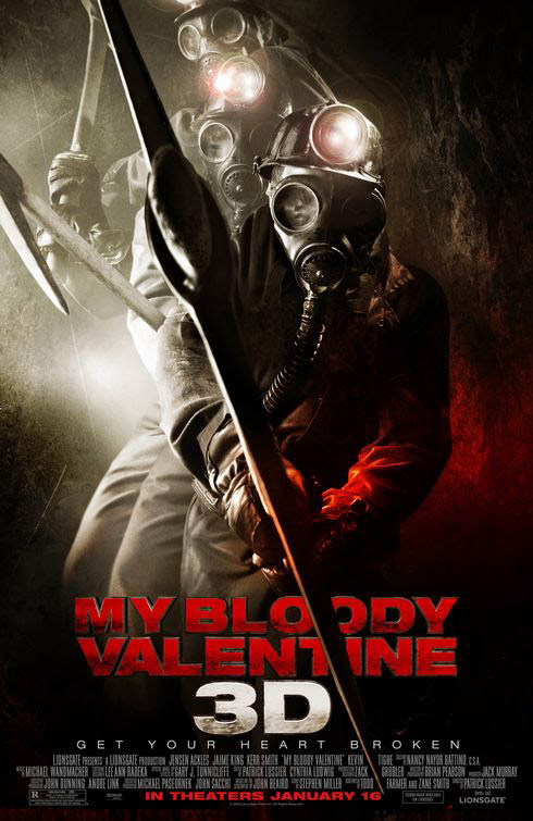 My Bloody Valentine (2D) Large Poster