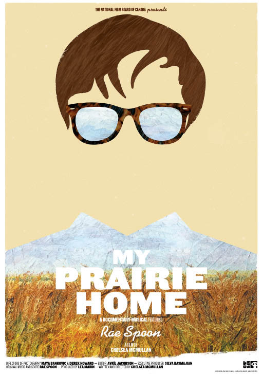 My Prairie Home Large Poster