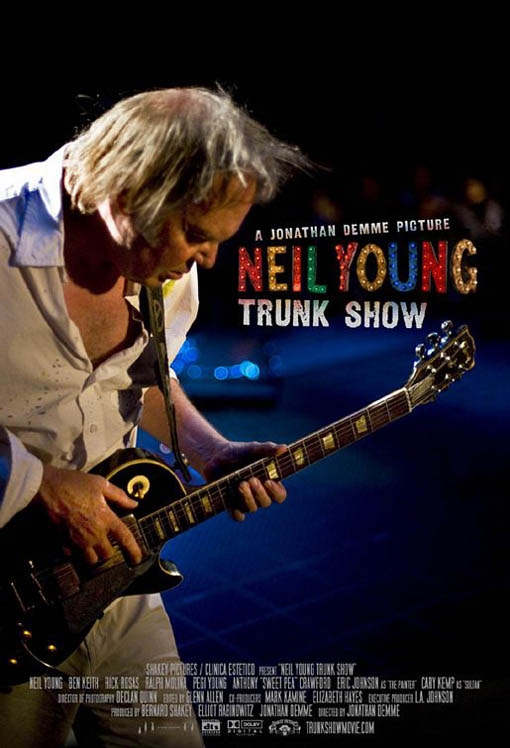 Neil Young Trunk Show Large Poster