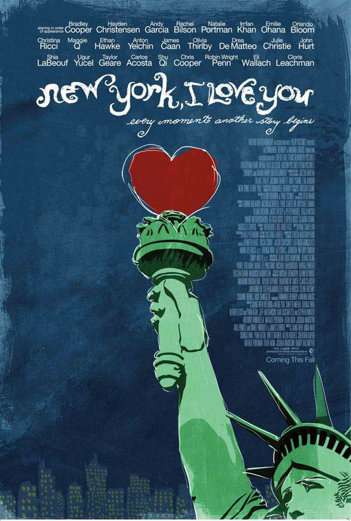 New York, I Love You Large Poster
