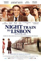 Night Train to Lisbon DVD review