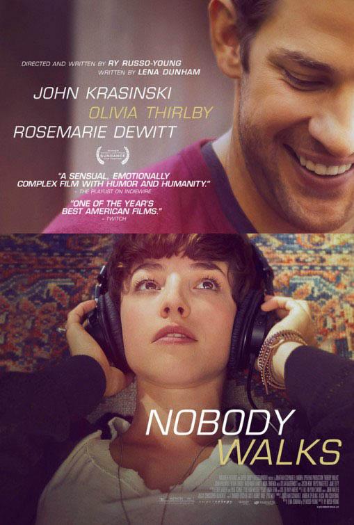 Nobody Walks Large Poster