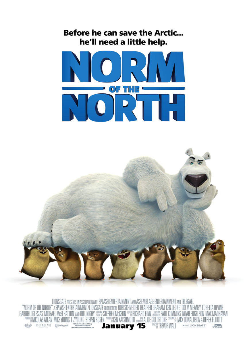 Norm of the North Large Poster