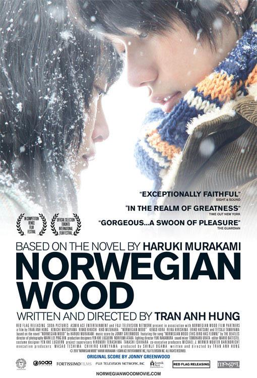 Norwegian Wood Large Poster