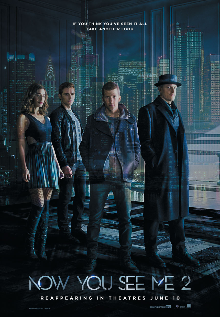 Now You See Me 2 Edmonton Movies