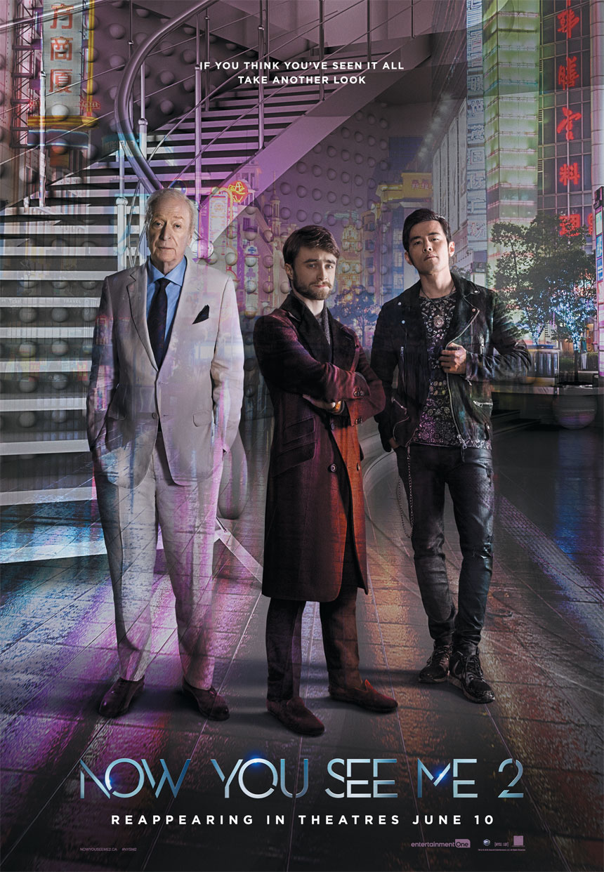 Now You See Me 2 Movies Castanet Net