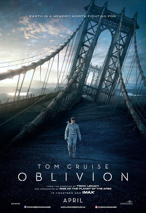 Oblivion official Movie Poster
