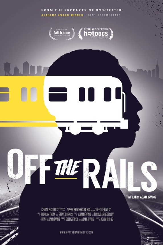 Off the Rails Large Poster