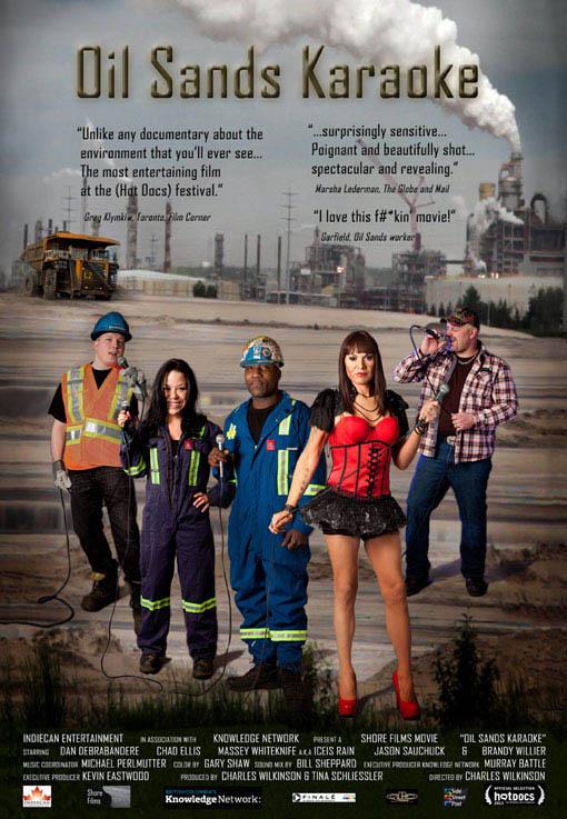 Oil Sands Karaoke Large Poster