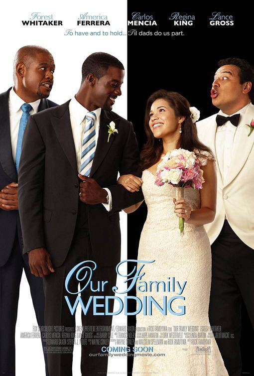 Our Family Wedding Large Poster