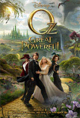 Oz The Great and Powerful 3D Movie Poster