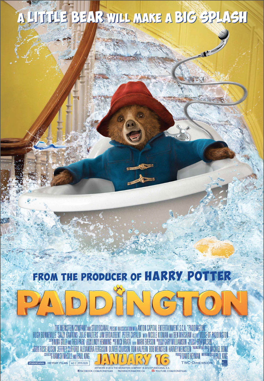 Paddington Large Poster