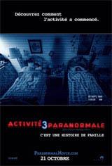 Activité paranormale 3 Movie Poster
