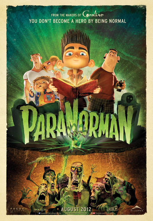 ParaNorman 3D official Movie Poster