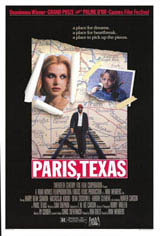 Paris, Texas Movie Poster
