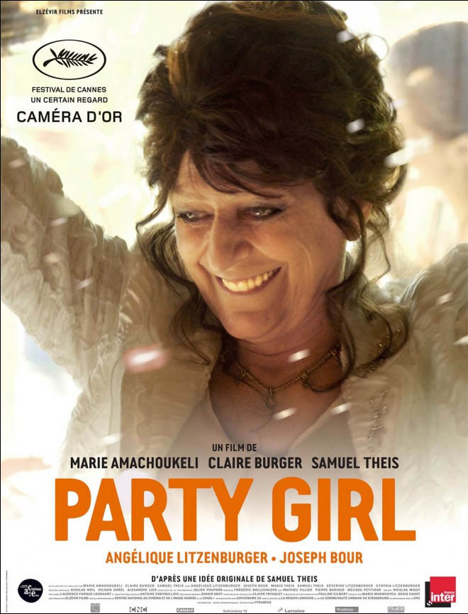 Party Girl Large Poster