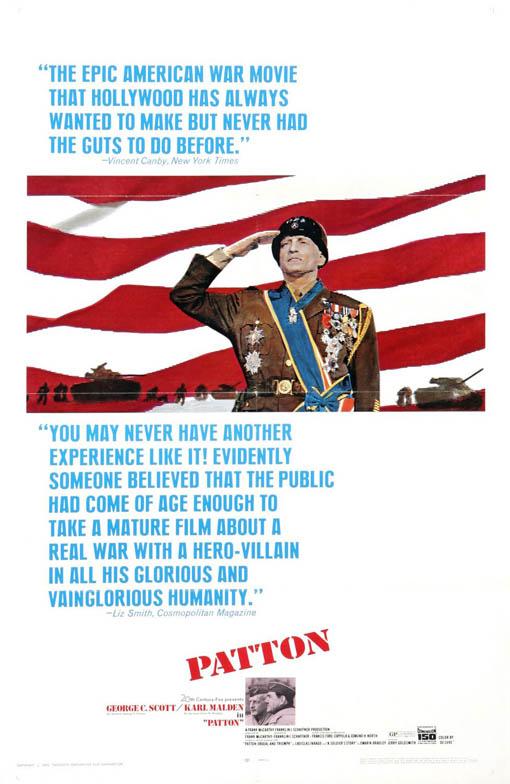 Patton Large Poster
