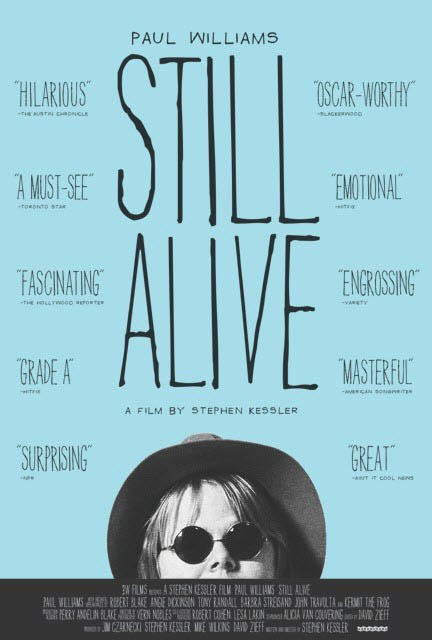 Paul Williams: Still Alive Large Poster