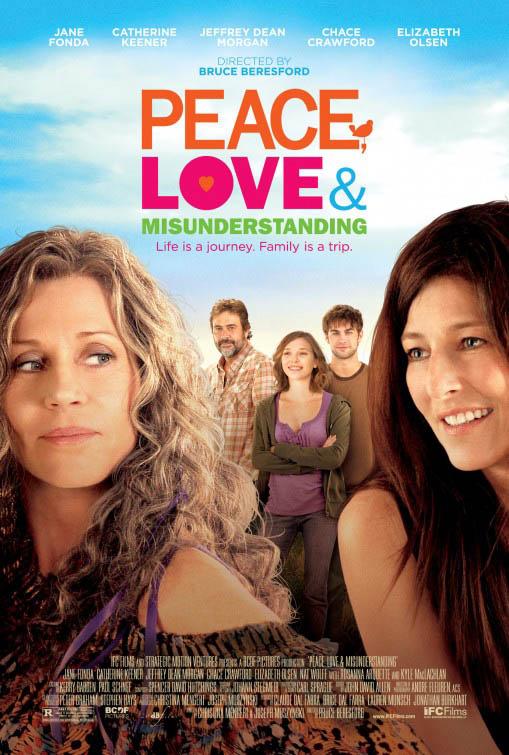 Peace, Love & Misunderstanding Large Poster