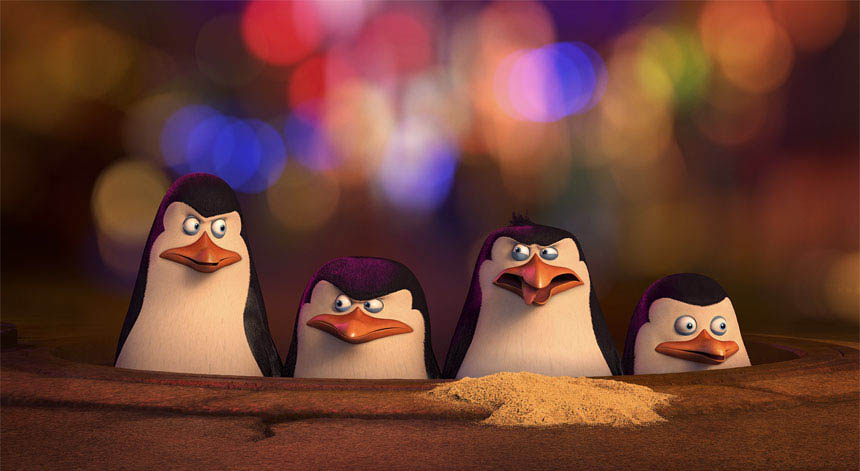 Penguins of Madagascar 3D - Movies - Castanet.net Penguin Moving Animation