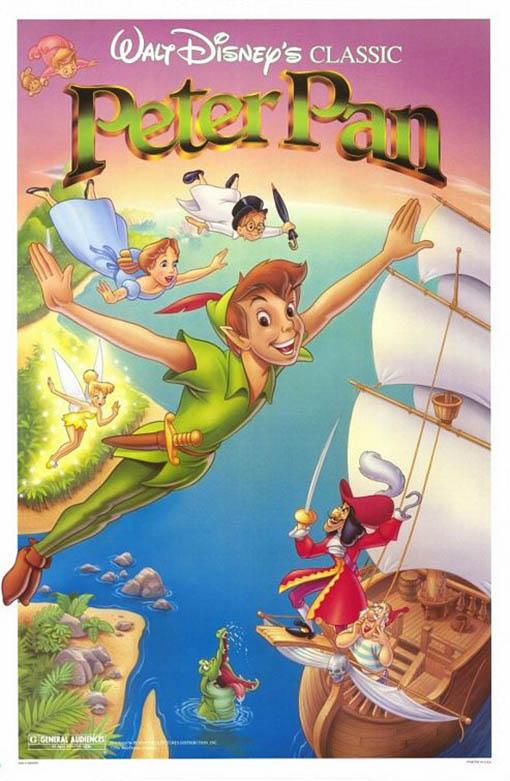 Peter Pan (1953) Large Poster
