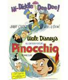Pinocchio (1940) Movie Poster