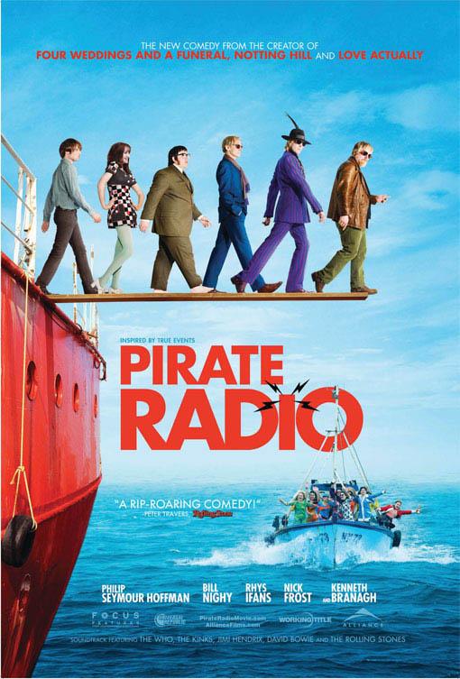 Pirate Radio Large Poster