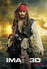 Pirates of the Caribbean: On Stranger Tides - An IMAX 3D Experience Movie Poster