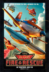 Planes: Fire & Rescue Movie Poster