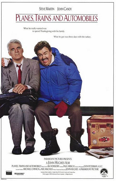 Planes, Trains and Automobiles Large Poster