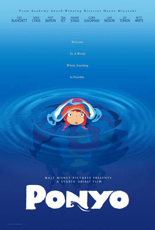 Ponyo Large Poster
